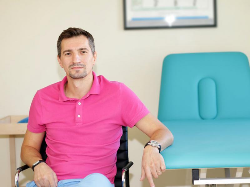 Kinetoterapeut Ciprian Popescu